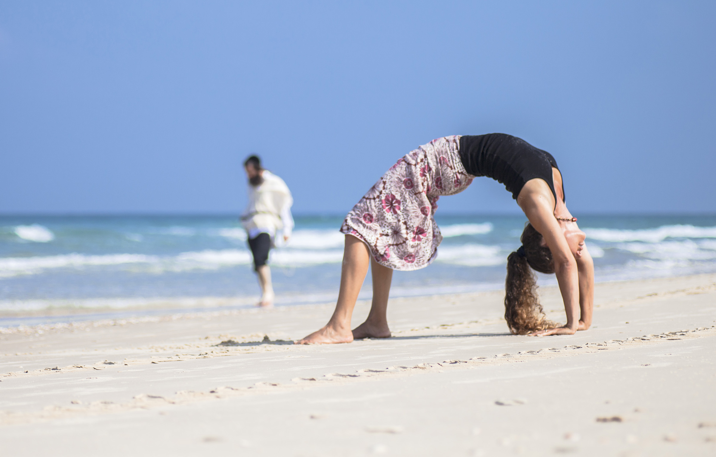 Tanya Gilat Beach Israel
