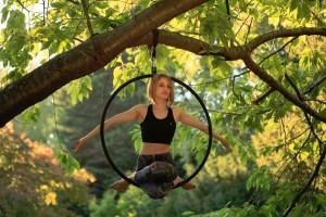 Alice Aerial Hoop - Elad Itzkin Yoga Photography - London - UK
