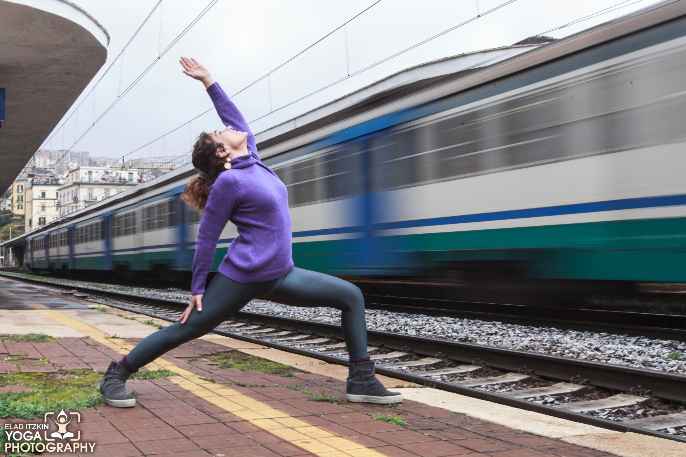 Lucia Ausilio Yoga Photos, Naples, Italy - Elad Itzkin Yoga Photography