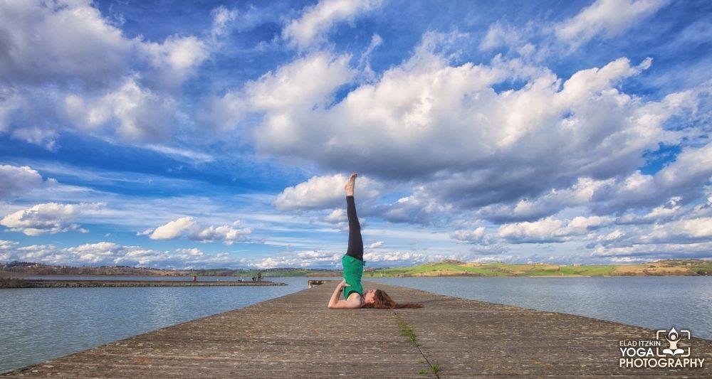 Eleonora Cosner Yoga Photos, Tuscany, Italy - Elad Itzkin Yoga Photography