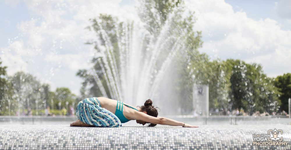 Agnieszka Kowalska Yoga Photos in Warsaw, Poland, Elad Itzkin Yoga Photography