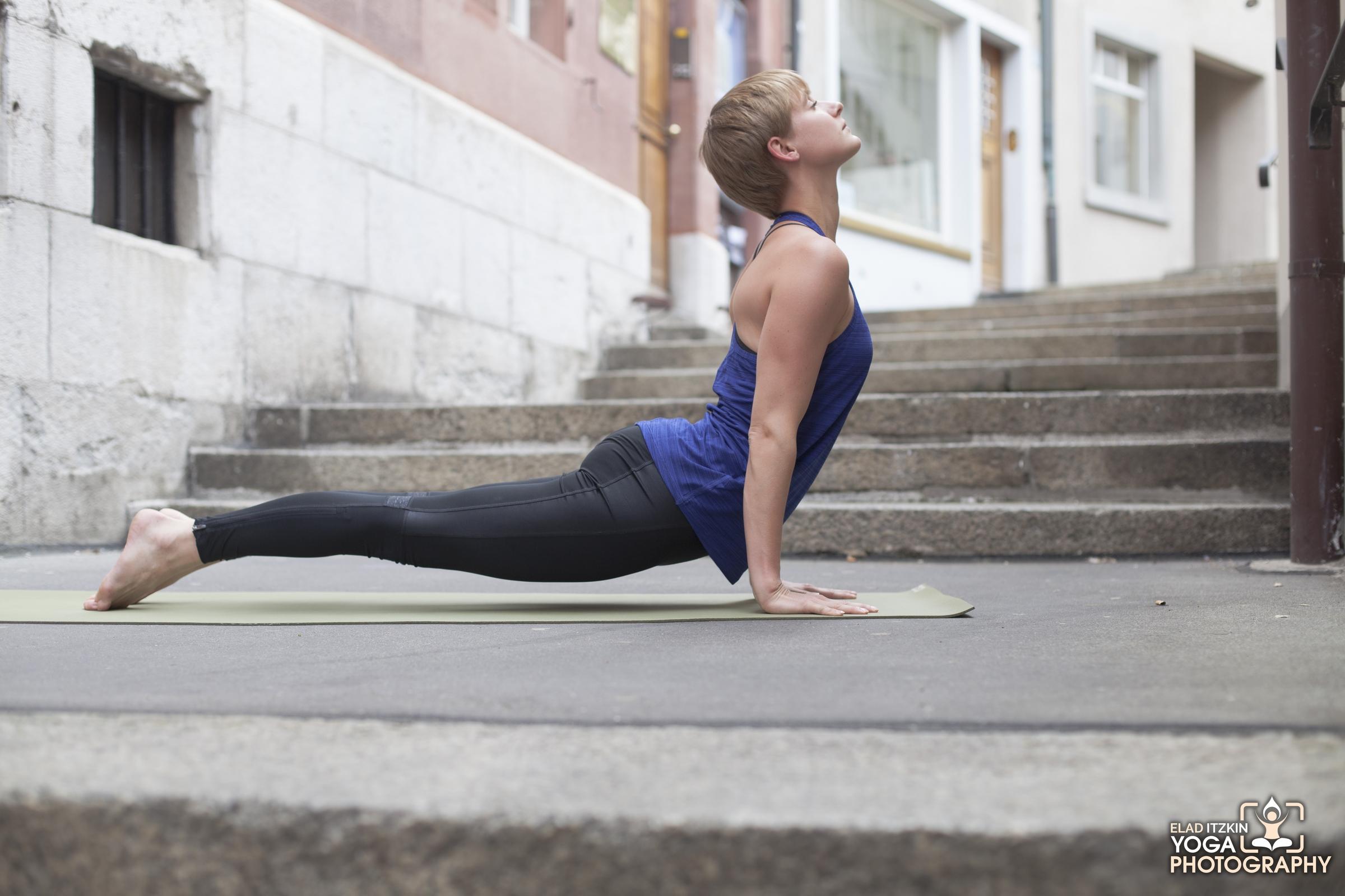 Livia Yoga Photos in Basel, Switzerland, Elad Itzkin Yoga Photography