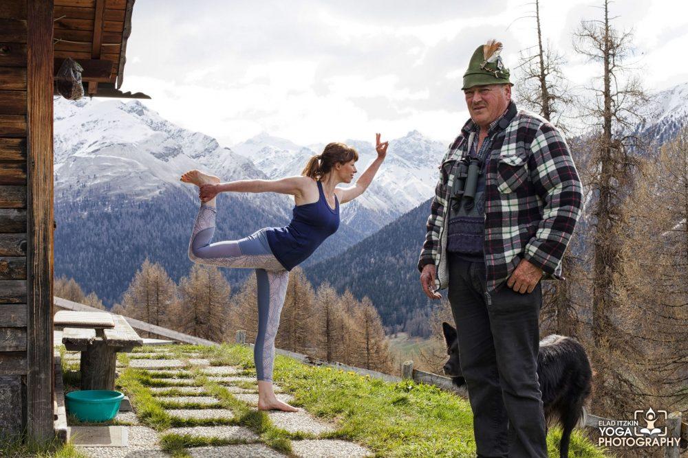 Zoe Green Piz Yoga photos - Elad Itzkin Yoga Photography