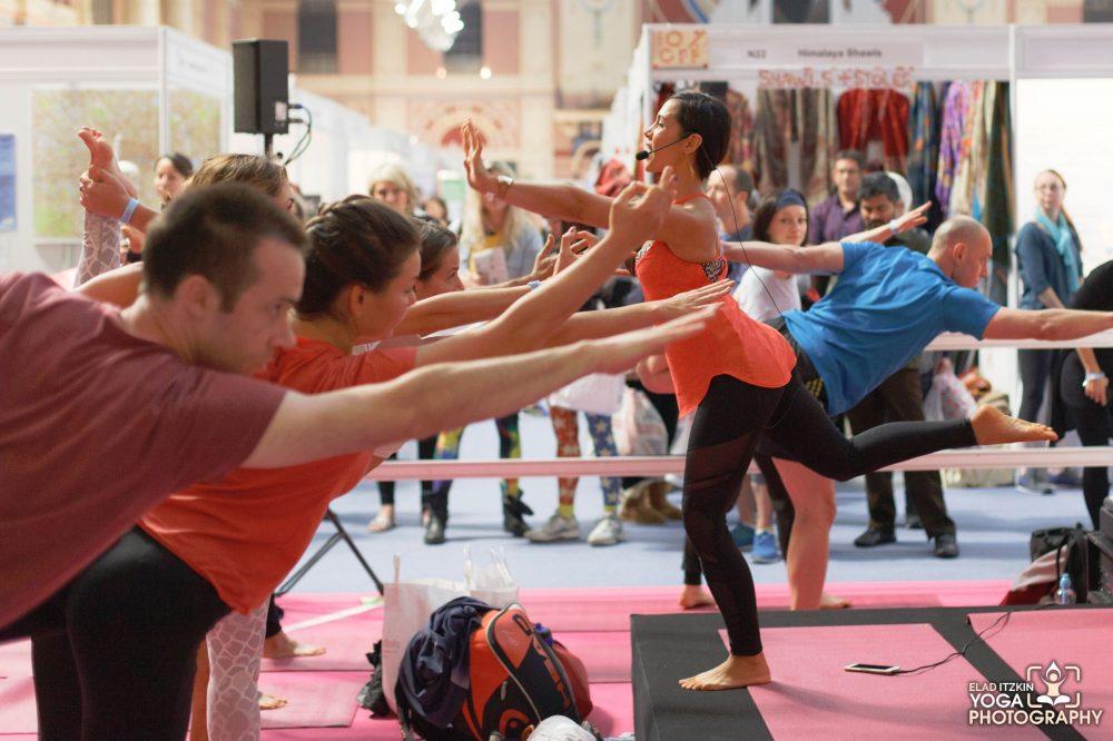 Celest Pereira - Om Yoga Show 2015 - Elad Itzkin Yoga Photography