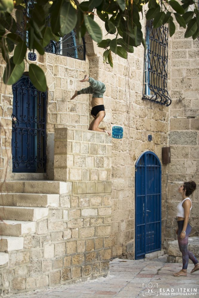 Elad Itzkin Yoga Photography - Kim Bassen and Eyal Mayer - ELAD4567
