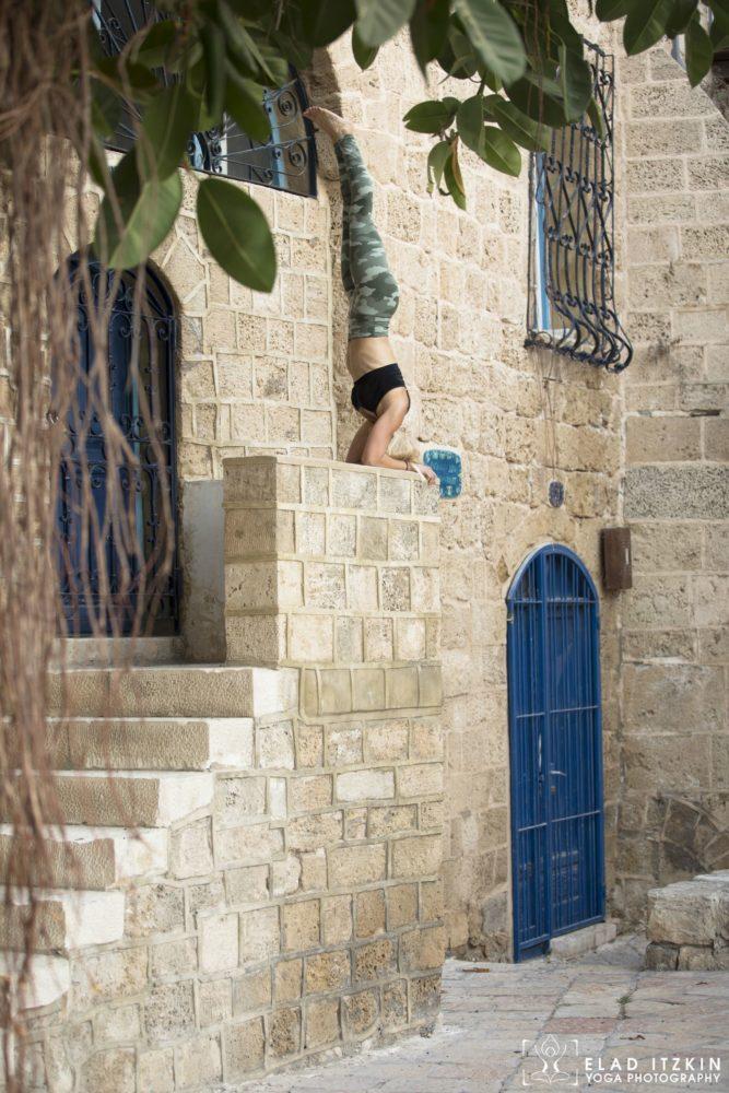 Elad Itzkin Yoga Photography - Kim Bassen and Eyal Mayer - ELAD4572