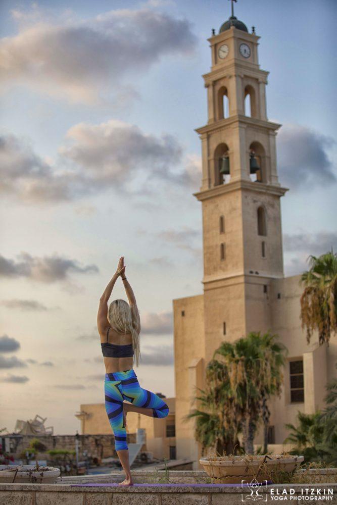 Elad Itzkin Yoga Photography - Kim Bassen and Eyal Mayer - ELAD4676