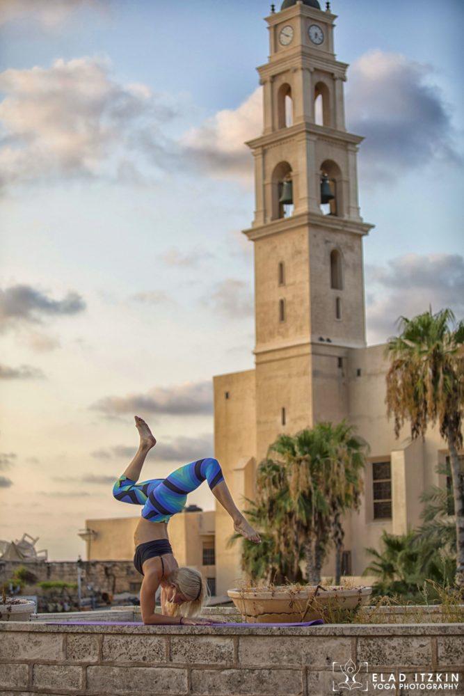Elad Itzkin Yoga Photography - Kim Bassen and Eyal Mayer - ELAD4682