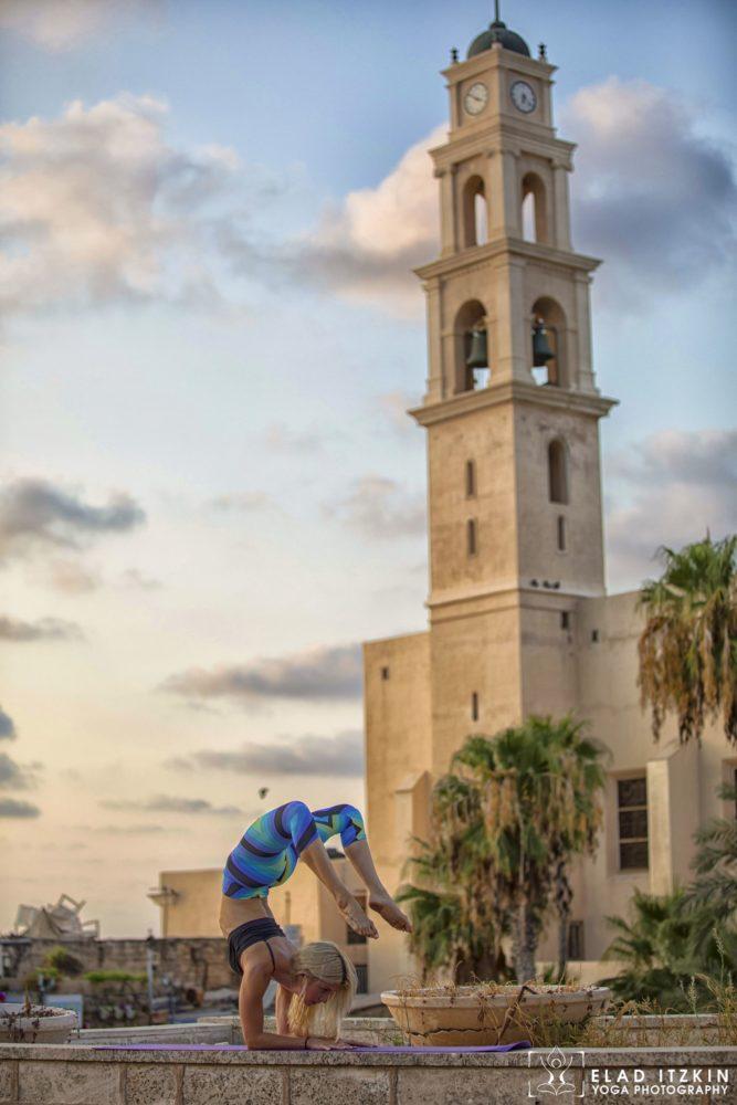 Elad Itzkin Yoga Photography - Kim Bassen and Eyal Mayer - ELAD4692