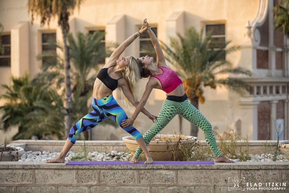 Elad Itzkin Yoga Photography - Kim Bassen and Eyal Mayer - ELAD4724