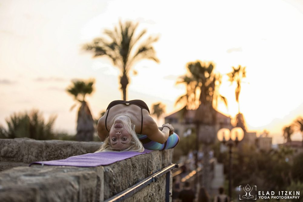 Elad Itzkin Yoga Photography - Kim Bassen and Eyal Mayer - ELAD4775