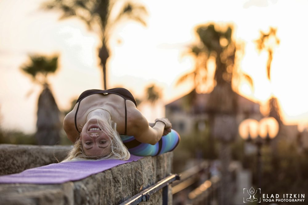 Elad Itzkin Yoga Photography - Kim Bassen and Eyal Mayer - ELAD4779