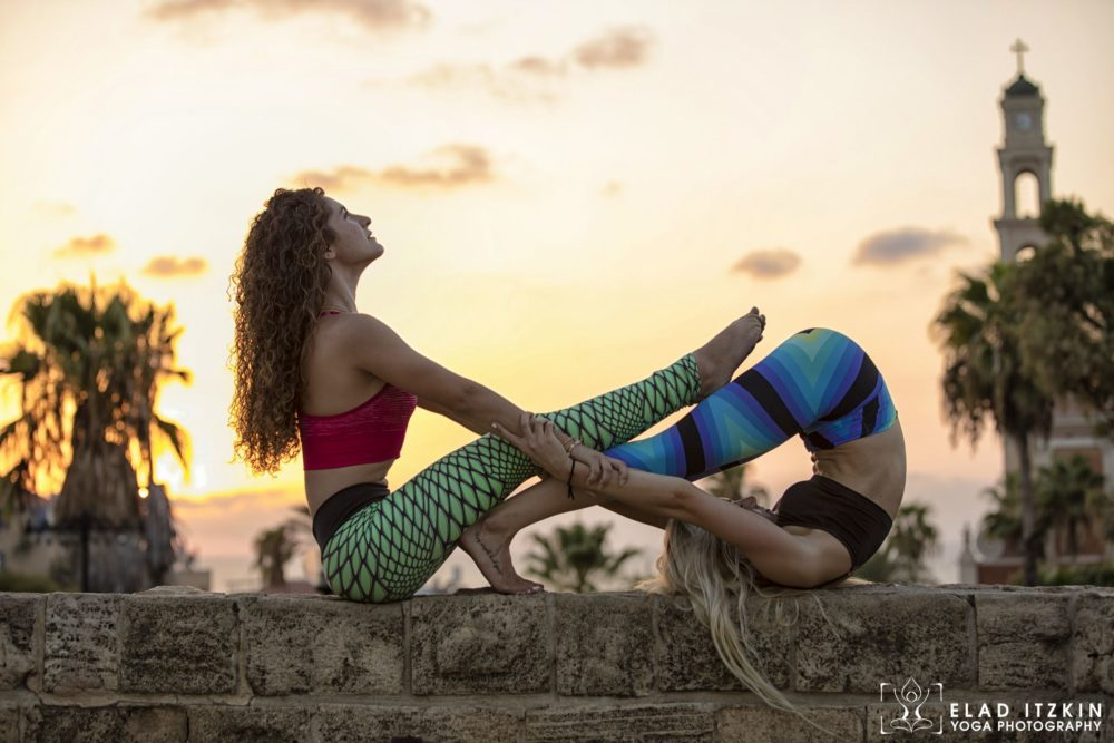 Elad Itzkin Yoga Photography - Kim Bassen and Eyal Mayer - ELAD4830