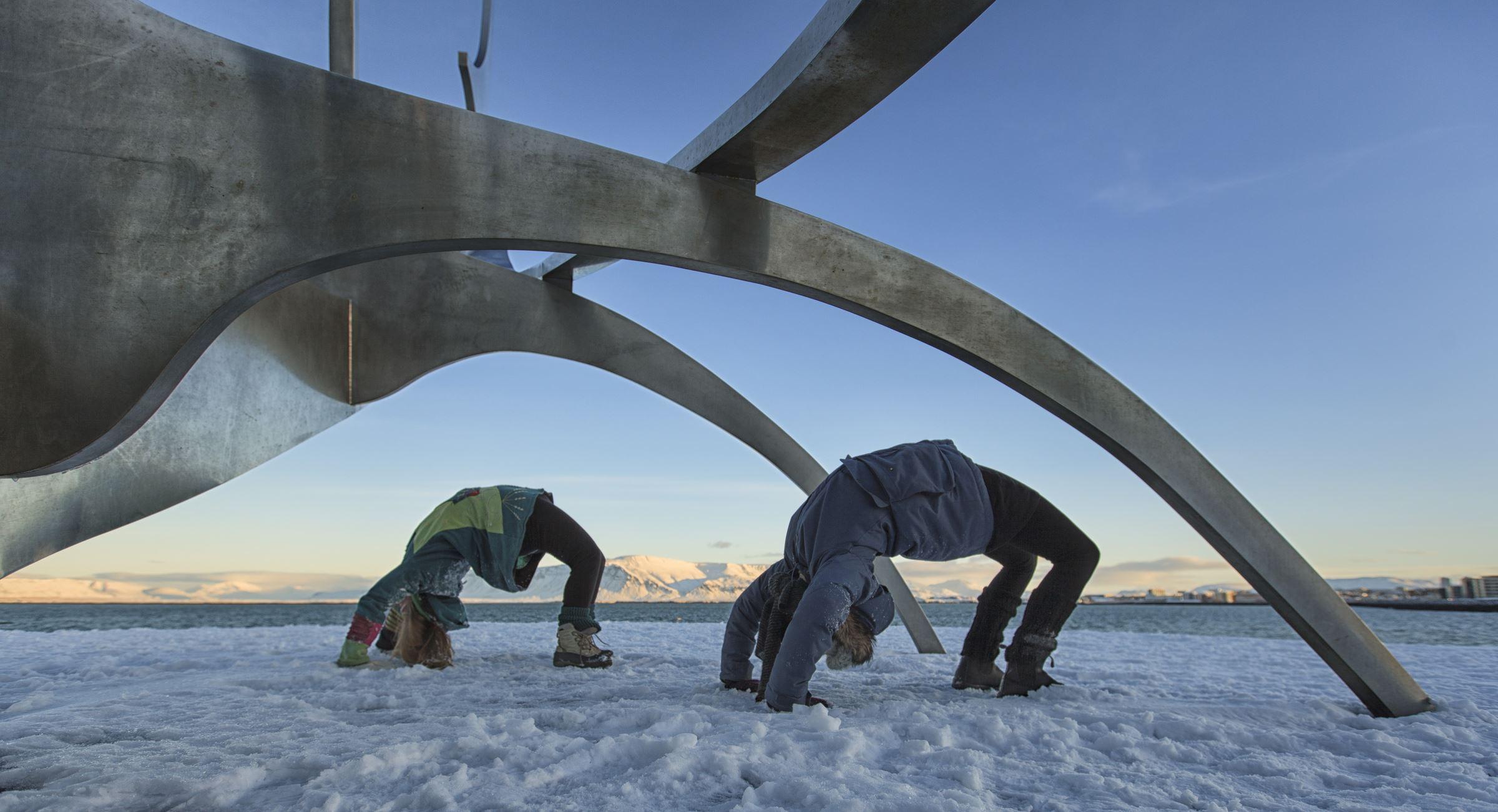 Elad Itzkin Yoga Photography - Nina & Kathrine 2336